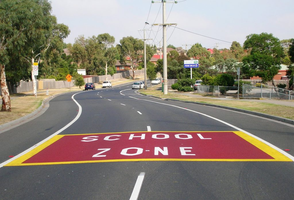 School Zone Gateway in OmniGrip CST