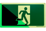 Industrial Exit Sign 'GLOW'