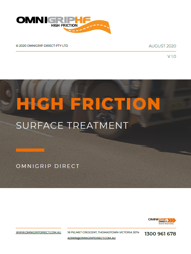 Click to register to receive the OmniGrip Direct Guide to High Friction Surface Treatment