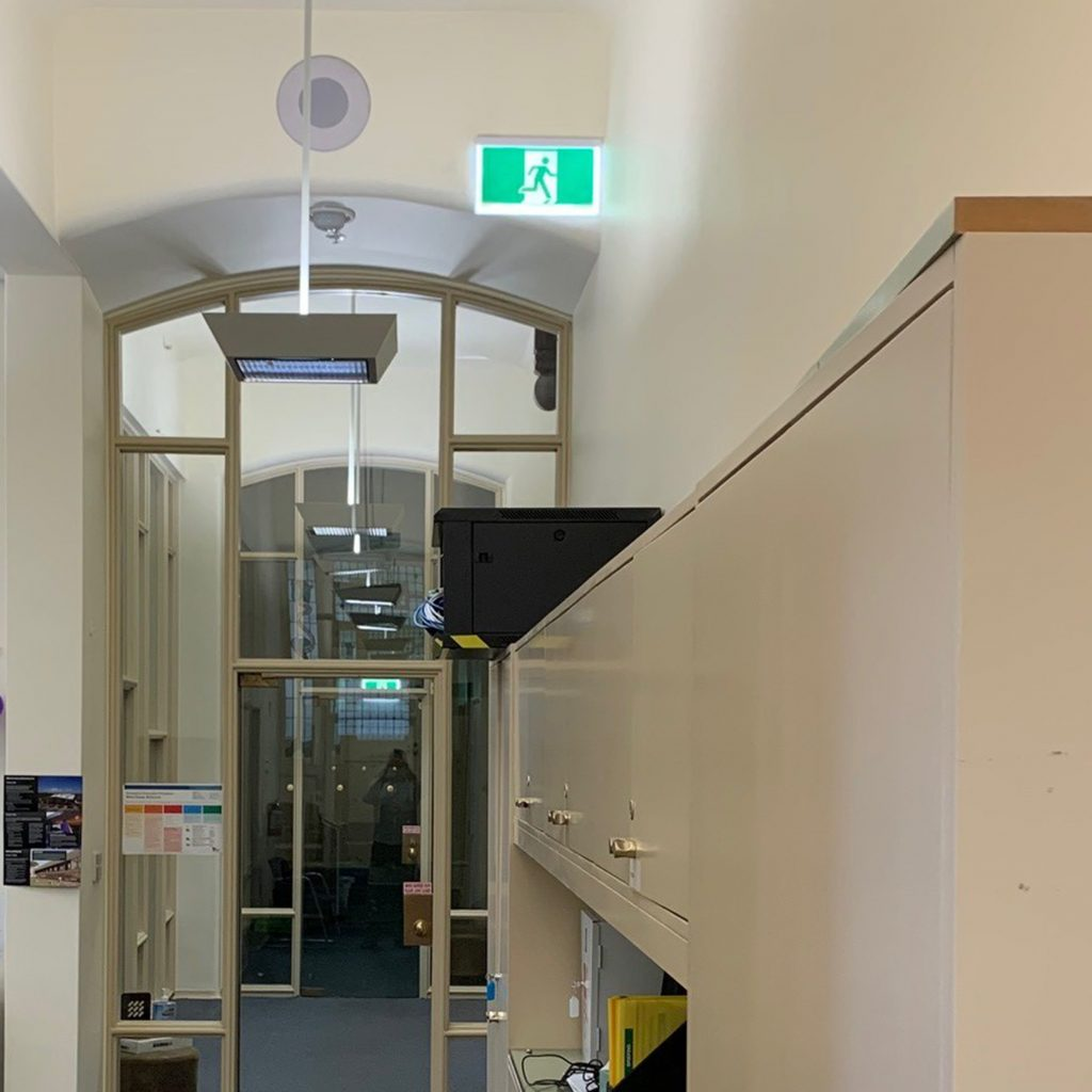 Milton House Safety Path LED Exit Sign